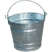 Magnolia Brush 455-14QT Hot Dipped Galvanized Steel Pail, 14 qt.
