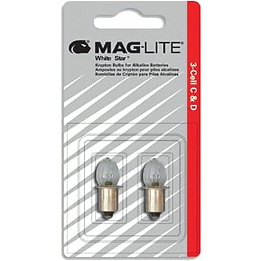 MAG-Lite® Replacement Halogen Lamp, For Used With Mag Charger® Rechargeable Flashlight Systems