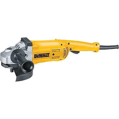 DeWalt® Large Heavy Duty Angle Grinder, 5.3 hp, 6000 rpm, 7 in, 9 in (Dia) Wheel