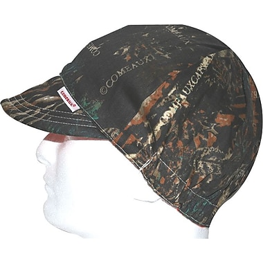 Comeaux® 100% Cotton Camouflage Reversible Soft Brim Comfort Round Crown Cap, 7 1/4 in