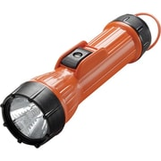 Worksafe™ 3 D Carbon Zinc Orange Polypropylene Handheld Flashlight, Incandescent