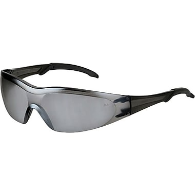 Anchor Brand® ANSI Z87 Dual Lens Safety Glasses, Bayonet Temples, Gray, 12/Box