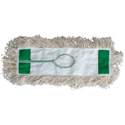 "Magnolia Brush 455-5148 48"" 4-Ply Cotton Bristle Dust Mop Head"