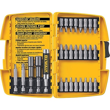 DeWalt® 37 pcs Tough Case Screwdriver Set