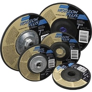 NorZon® Plus Ceramic Alumina/Zirconia Alumina Type 27 Grinding Wheel, 7 in (OD), 1/8 in (T)