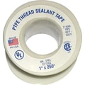 Plastomer® Premium Grade High Density Thread Sealant Tape, 520 in (L), 3/4 in (W)