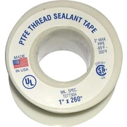Plastomer® Premium Grade High Density Thread Sealant Tape, 520 in (L), 1/4 in (W)
