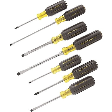 Klein Tools® 7 pcs Cushion Grip Screwdriver Set
