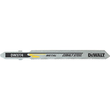 DeWalt® Cobalt Steel Jig Saw Blade, 18 TPI