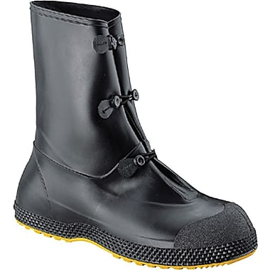 SF™ Black PVC Mid Overboot, Size Large, 12 in (H)