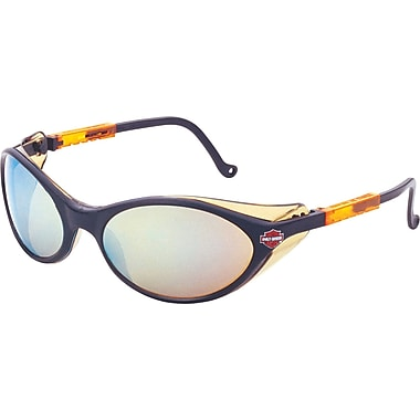 Harley-Davidson® ANSI Z87 HD 100 Safety Glasses, Gold Mirror