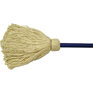 Anchor Brand® Cotton Bristle Mounted Deck Mop with Wood Handle, 24 oz.