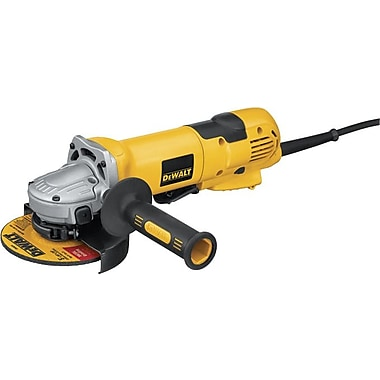 DeWalt® Small High Performance Angle Grinder, 2.3 hp, 11000 rpm, 4 1/2 in, 5 in (Dia) Wheel