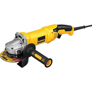 DeWalt® Rat Tail Sag High Performance Angle Grinder, 2.3 hp, 9000 rpm, 5 in Or 6 in (Dia) Wheel