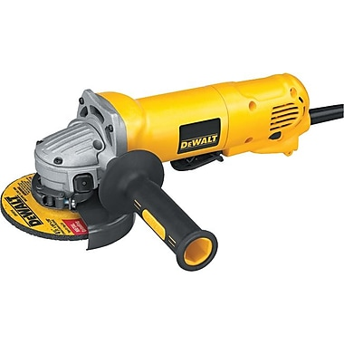 DeWalt® Small Angle Grinder with No-Lock Paddle Switch, 1.6 hp, 11000 rpm, 4 1/2 in (Dia) Wheel