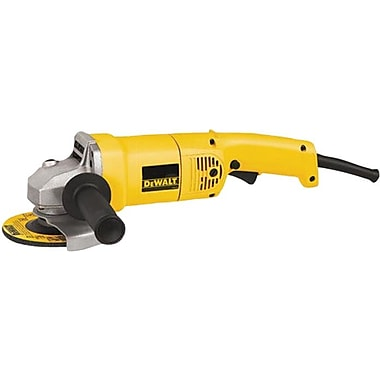 DeWalt® Medium Angle Grinder, 2 1/2 hp, 10000 rpm, 5 in (Dia) Wheel