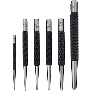L.S. Starrett® Steel Punch Set, 5 pcs