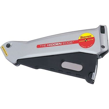 Hidden Edge® S011 Aluminum Case Retractable Blade Utility Knife