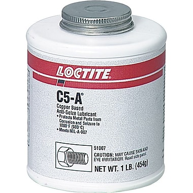 Loctite® C5-A® Smooth Copper Paste Anti-Seize Lubricant, 8 oz Brush Top Can