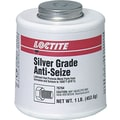 Loctite® Aluminum Paste Silver Grade Multi-Purpose Anti-Seize Lubricant, 1 lb Brush Top Can