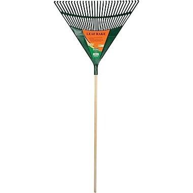 UnionTools® Polypropylene Tine Lawn Leaf Rake, 30 in (W) x 1 3/4 in (H) Blade, 72 1/4 in (L)