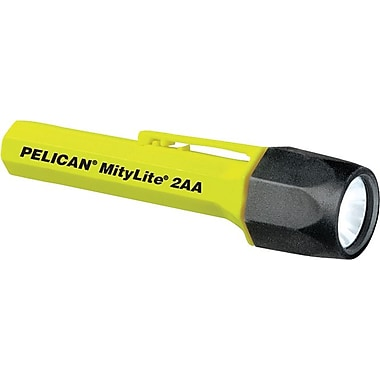 MityLite™ 2 3V 0.6A 1.8W AA Alkaline Black Xenoy Polymer Resin 2300 Flashlight, Xenon