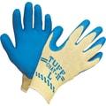 Atlas Fit™ Tuff-Coat ll™ Kevlar® Fiber Knit Lining Blue Natural Rubber Latex Palm Gloves