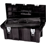 Rubbermaid® Black Structural Foam Tool Box, 26 in (L) x 11 1/2 in (W) x 11 1/8 in (H)