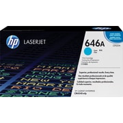 HP 646A Cyan Toner Cartridge (CF031A)
