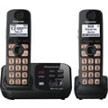 Panasonic KX-TG4732B DECT 6.0 Expandable Digital Cordless Answering System with 2 Handsets