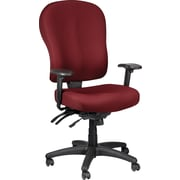 Tempur-Pedic TP4000 Fabric Computer and Desk Office Chair, Burgundy, Fixed Arm (TP4000-BURGUNDY)