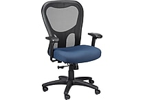 Tempur-Pedic® TP9000, Ergonomic Mesh Mid-Back Task Chair, Navy