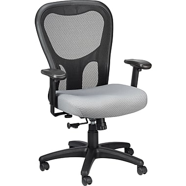 Tempur-Pedic TP9000 Polyester Computer and Desk Office Chair, Gray, (TP9000-GREY)