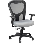 Tempur-Pedic Ergonomic Mid-Back Mesh Task Chair, Adjustable Arms, Gray