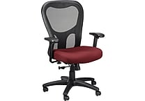 Tempur-Pedic® TP9000, Ergonomic Mesh Mid-Back Task Chair, Burgundy