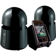 Grace Digital Mini-Bullets II Weatherproof Wireless Speaker System, Black