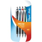 Paper Mate Inkjoy 550RT Retractable Ballpoint Pens, Medium Point 1.0mm, Assorted, 4/Pack