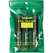 HANSON® High Carbon Steel 3 pcs Fractional Taper Plug Bottom Tap Set, 3/8 in