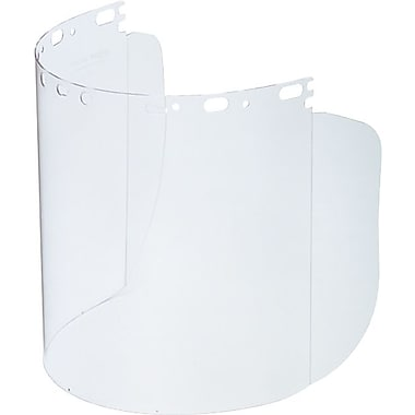 Protecto-Shield® Clear Propionate Face Shield Visor, 8 1/2 in Length x 15 in (W) x 0.07 in (T)