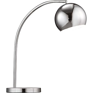 Zuo Solaris Incandescent Table Lamp, Chrome