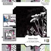 Colorbok 12x12 Patterned Paper Pad, Midnight Garden