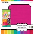 Colorbok 12x12 Textured Cardstock, Brights