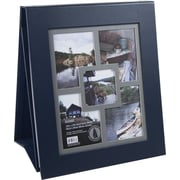 Colorbok® 12in Multi Frame Easel Album, Navy Leather