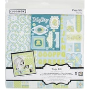 Colorbok® 12in Page Kit, Baby Boy