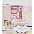 Colorbok 12in Page Kit, Baby Girl