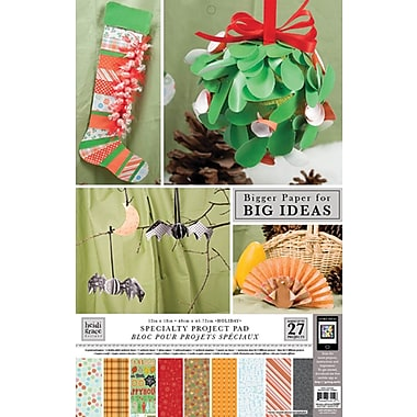 Colorbok Heidi Grace Themed Project Pads, Holiday