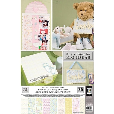 Colorbok Heidi Grace Themed Project Pads, Baby