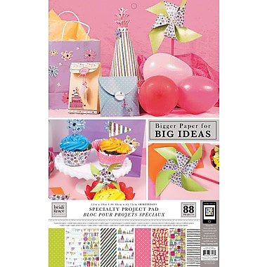 Colorbok Heidi Grace Themed Project Pads, Birthday