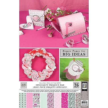 Colorbok Heidi Grace Themed Project Pads, Love