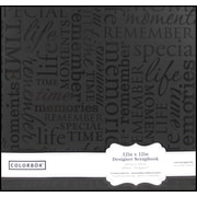 Colorbok 12x12 Album, Black Memories